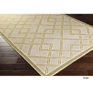 Hand Woven Viscose Rug (2' x 3')