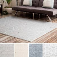 Nonestage Modern Geometric Area Rug - 7'10 x 10'