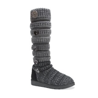 Muk Luks Women's Kalie Grey Polyester Boots (3 options available)