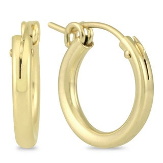 Link to Marquee Jewels 14k Yellow Gold Filled 15 millimeter Hoop Earrings Similar Items in Children's Jewelry