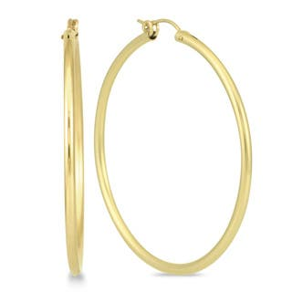 Marquee Jewels 14k Yellow Gold Filled 50-millimeter Hoop Earrings|https://ak1.ostkcdn.com/images/products/12127386/P18985440.jpg?impolicy=medium