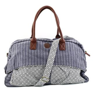 Roxy Women's Canteen Duffel Bag Blue Canvas Handbags