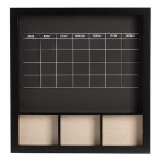 Davina Decorative Wood Wall Weekly Chalkboard Calendar|https://ak1.ostkcdn.com/images/products/12127577/P18985579.jpg?impolicy=medium