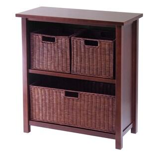 Milan 4-piece Cabinet/ Shelf with 3 Baskets