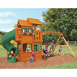 Big Backyard Grand Valley Retreat Wooden Play Set