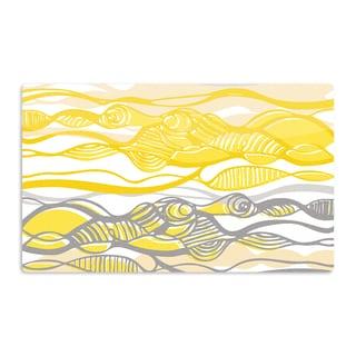 KESS InHouse Gill Eggleston 'Kalahari' Artistic Aluminum Magnet