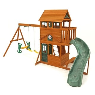 Big Backyard Ashberry II Wood Play Set