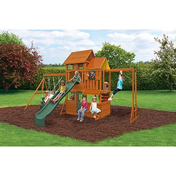 KidKraft Cedar Summit Barrington Wooden Play Set