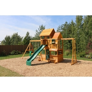 Cedar Summit Barrington Wooden Play Set