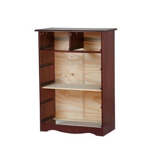 100-percent Solid Wood 6-drawer/4+2-drawer Chest
