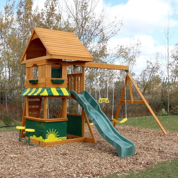 Shop Kidkraft Magnolia Wooden Play Set Ships To Canada Overstock