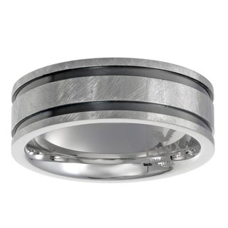 Men's Stainless Steel Brushed FInish Band
