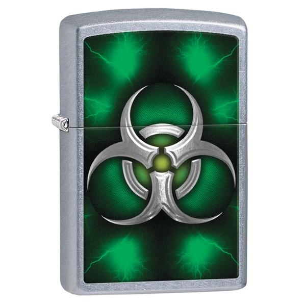 Zippo Biohazard Green Lighter