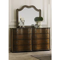 Gracewood Hollow Angelou Serpentine 8-drawer Dresser and Mirror Set