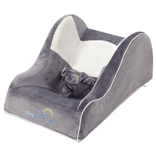 Dex Baby DayDreamer Two-tone Grey Infant Sleeper