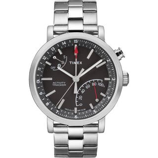 Timex Unisex TW2P99000 Metropolitan+ Watch with Silver-tone Stainless Steel Bracelet|https://ak1.ostkcdn.com/images/products/12128304/P18986190.jpg?impolicy=medium