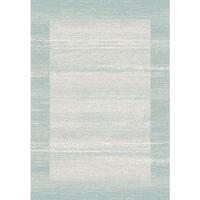 Sielle Blue/ Grey Haze Rug (5'3 x 7'7) - 5'3 x 7'7