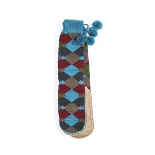 Muk Luks Women's Slipper Socks with Poms