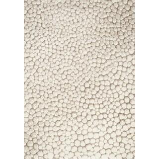 Sielle Cream/ Beige Beach Pebbles Rug (7'10 x 10'10)