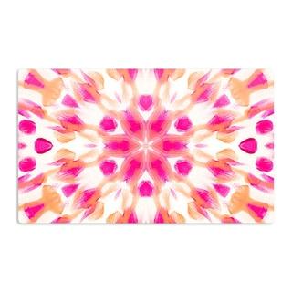 KESS InHouse Iris Lehnhardt 'Batik Mandala' Artistic Aluminum Magnet