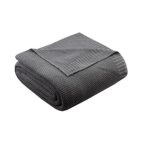 Carson Carrington Taurage Knit Blanket