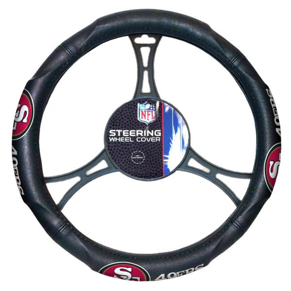 The Northwest Company NFL 605 49ers Car Steering Wheel Cover