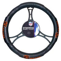 The Northwest Company NFL 605 Bears Car Steering Wheel Cover