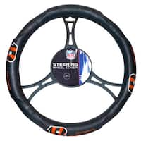 The Northwest Company NFL 605 Bengals Car Steering Wheel Cover