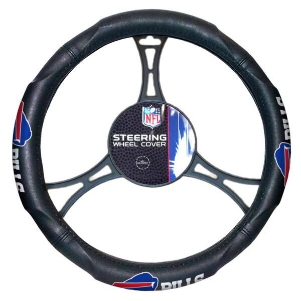 NFL Bills Car Steering Wheel Cover