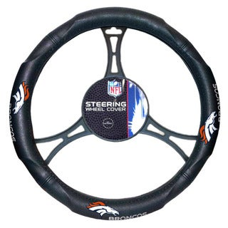 NFL 605 Broncos Car Steering Wheel Cover