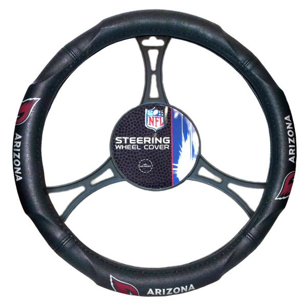 The Northwest Company NFL 605 Cardinals Car Steering Wheel Cover