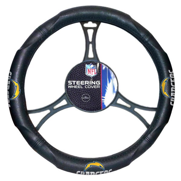 The Northwest Company NFL Chargers Car Steering Wheel Cover