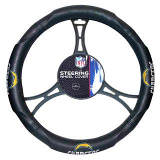 The Northwest Company NFL Chargers Car Steering Wheel Cover|https://ak1.ostkcdn.com/images/products/12128704/P18986536.jpg?impolicy=medium