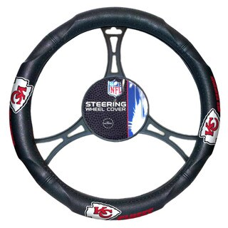 The Northwest Company NFL 605 Chiefs Car Steering Wheel Cover
