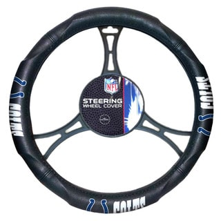 The Northwest Company NFL 605 Colts Car Steering Wheel Cover