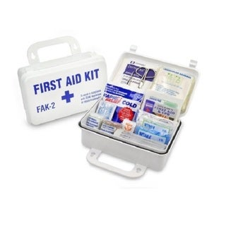 Trademark Waterproof First Aid Kit for up to 15 People