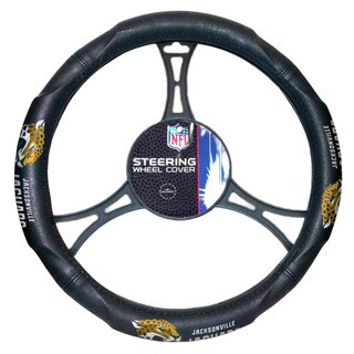 NFL 605 Jaguars Car Steering Wheel Cover