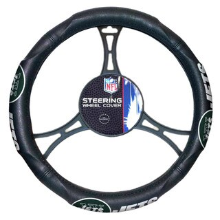 NFL Jets Car Steering Wheel Cover