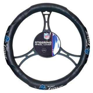 The Northwest Company NFL 605 Lions Steering Wheel Cover