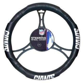 NFL 605 NY Giants Car Steering Wheel Cover