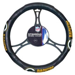 NFL 605 Packers Car Steering Wheel Cover