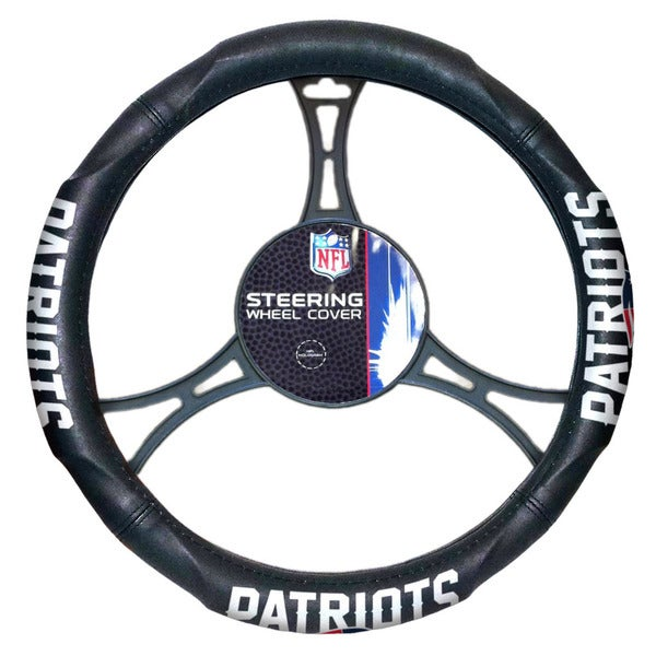 The Northwest Company NFL 605 Patriots Car Steering Wheel Cover