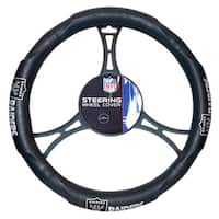 NFL Raiders Car Steering Wheel Cover