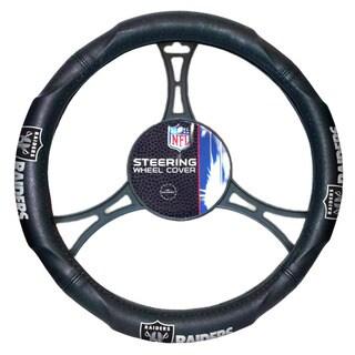 NFL Raiders Car Steering Wheel Cover