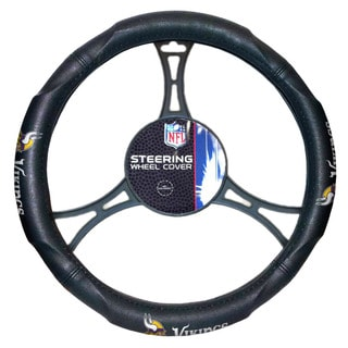 The Northwest Company NFL 605 Vikings Car Steering Wheel Cover