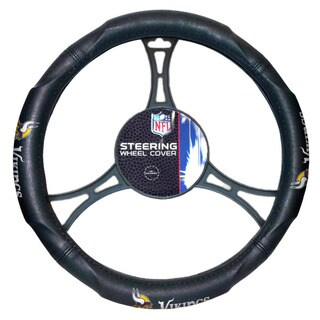 The Northwest Company NFL 605 Vikings Car Steering Wheel Cover