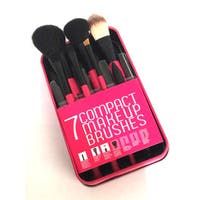 Rucci Compact 7-piece Makeup Brush Set