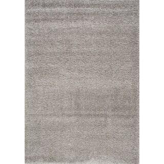 Silver Shilo Solid Rug (7'10 x 10'6)