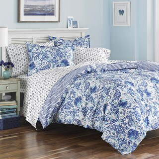 Poppy and Fritz Brooke Cotton Paisley Comforter Set (As Is Item)