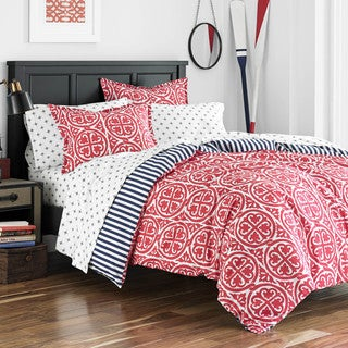 Poppy & Fritz Morgan Cotton Medallion Comforter Set